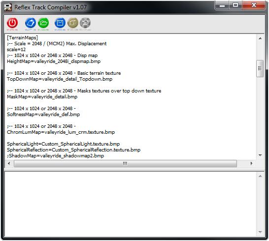 Reflex Track Compiler