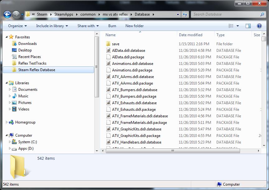 Windows 7 Favorites